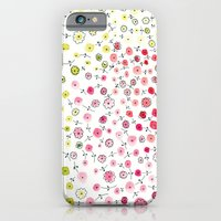 iPhone & iPod Case featuring Tiny flowers by Claire Caudwell Art and Pattern