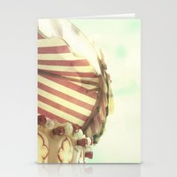 VINTAGE CAROUSEL Stationery Cards