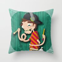 Be Artistic, be versatile Throw Pillow