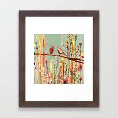 in your eyes Framed Art Print