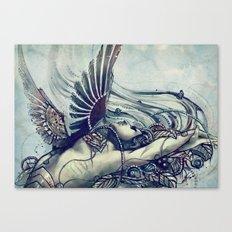 Zodiac Sign: Virgo Canvas Print