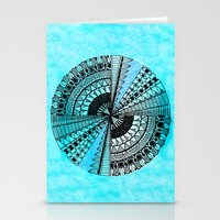 eye in the sky Stationery Cards