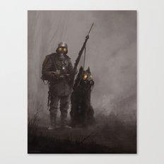 Infantryman Canvas Print