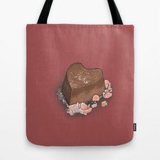 Valentine's Day with Sea Salt (Single Chocolate) Tote Bag