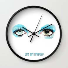 Bowie - Life On Mars? Wall Clock