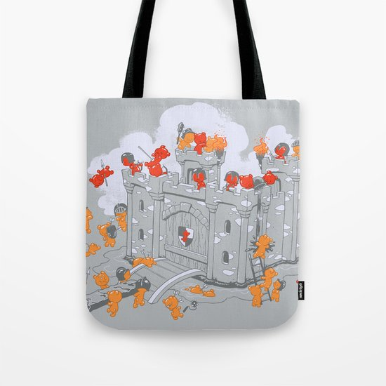 The Siege Tote Bag