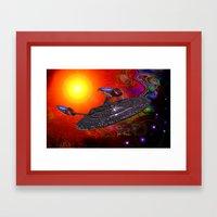 Enterprise NCC 1701E Framed Art Print