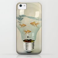 iPhone 5c Cases featuring ideas and goldfish 03 by vin zzep