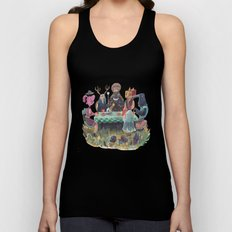 The Art of ruining conversation at dinner parties Unisex Tank Top