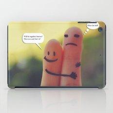 Friends/Enemies. iPad Case
