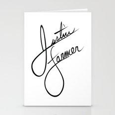 Justin Farmer Logo Stationery Cards