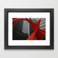 The Flamingo Framed Art Print