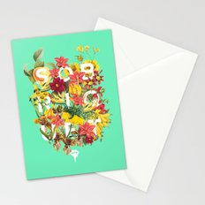 Flora Tropical. Stationery Cards