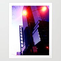 Streetlights Art Print