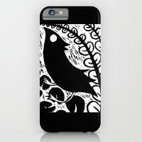 Doodlebird Print iPhone 6 Slim Case
