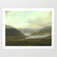 Alpine Ranges - Australia Art Print