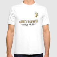 Geek Culture / Touch Me,… Mens Fitted Tee White SMALL