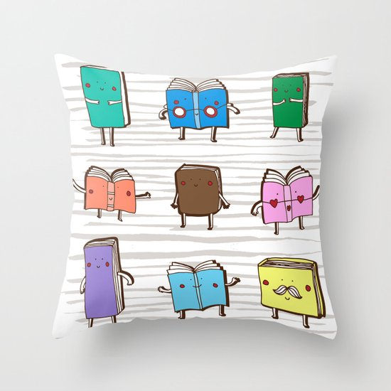 Book Club | Bookish Throw Pillows