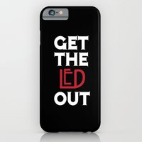 iPhone & iPod Case featuring Get the Led Out by Catherine Doolan