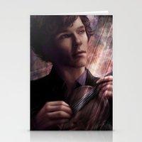 sherlock Stationery Cards featuring Sherlock by jasric