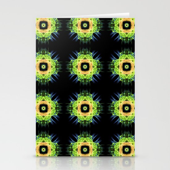 FLOWER PATTERN Stationery Card