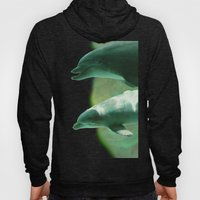 Two Dolphins Hoody
