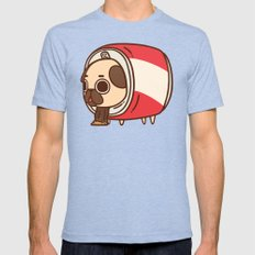 Puglie Cola Can Mens Fitted Tee Tri-Blue SMALL