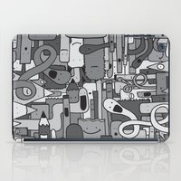 Pile De Monstres - Black… iPad Case