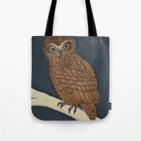 Boobook Owl Tote Bag
