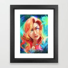 Mad Eye Framed Art Print
