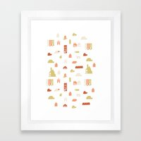 Searching For A House Framed Art Print