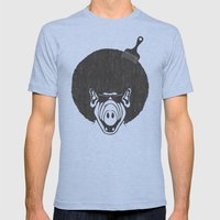 Alfro Mens Fitted Tee Athletic Blue SMALL