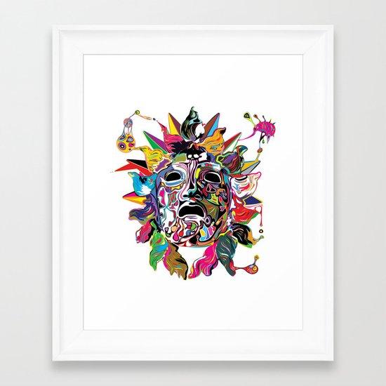 Phoebus Framed Art Print