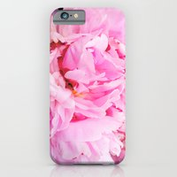 Pretty Pink Peony iPhone 6 Slim Case
