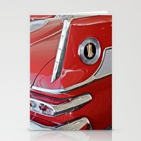 1958 Plymouth Fury Red &… Stationery Cards