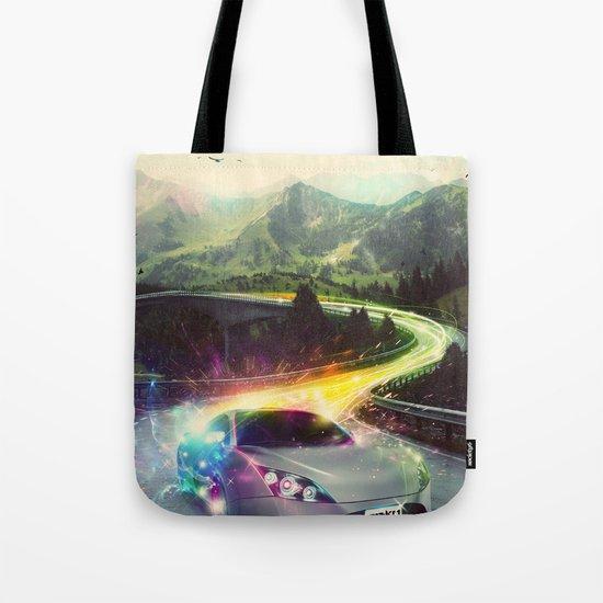 Superhighway Tote Bag
