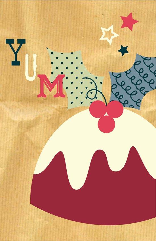 Yummy Christmas Pudding! Art Print