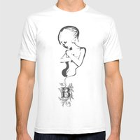 BW Mens Fitted Tee White SMALL