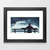 Tethered Framed Art Print