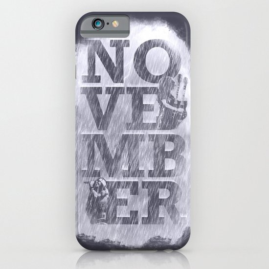 November Rain iPhone & iPod Case