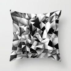 Origami or something.   Throw Pillow