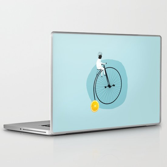 My bike Laptop & iPad Skin