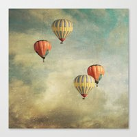 Tales Of Far Away 2 Canvas Print