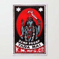 Tara Mai - Matchbox Canvas Print