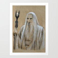 Saruman Art Print