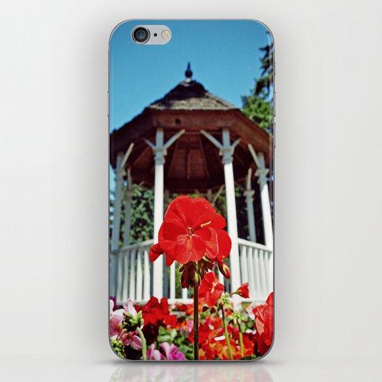 Gazebo flower iPhone & iPod Skin