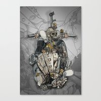 CROSS ENGINE Canvas Print