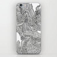 Squigglies iPhone & iPod Skin