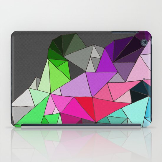 perfect colors in an imperfect configuration iPad Case
