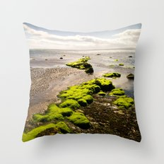 Away to the Sea Throw Pillow